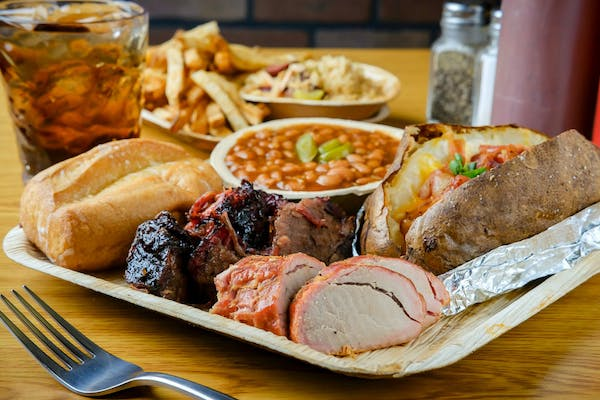 (2) Meat Combo Plate