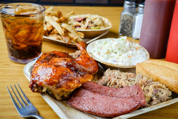 (3) Meat Combo Plate