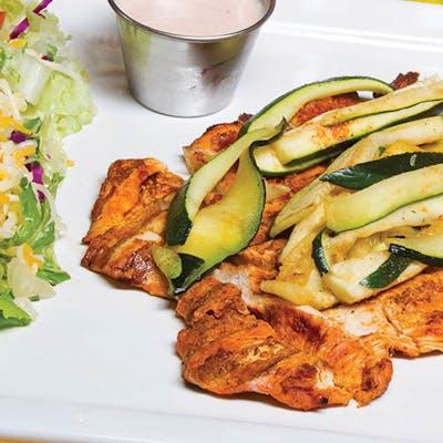 Grilled Chicken Breast & Veggies