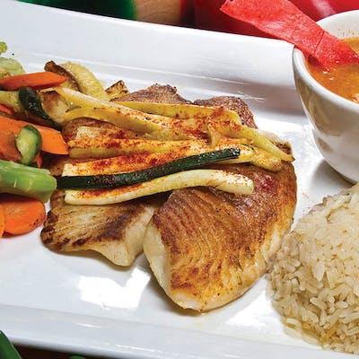 Grilled Fish & Vegetables