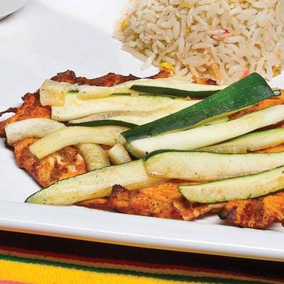 Chicken & Veggie Fajitas