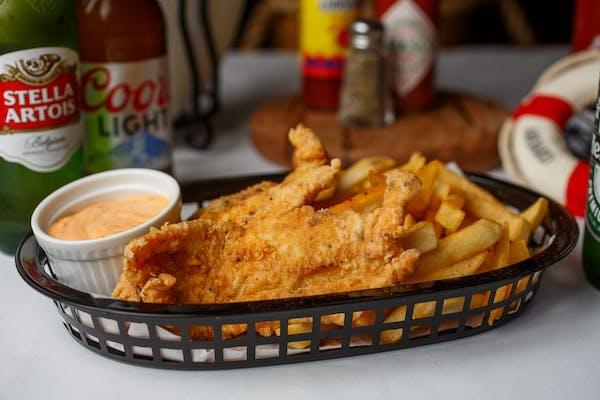 Lunch Fried Catfish Basket