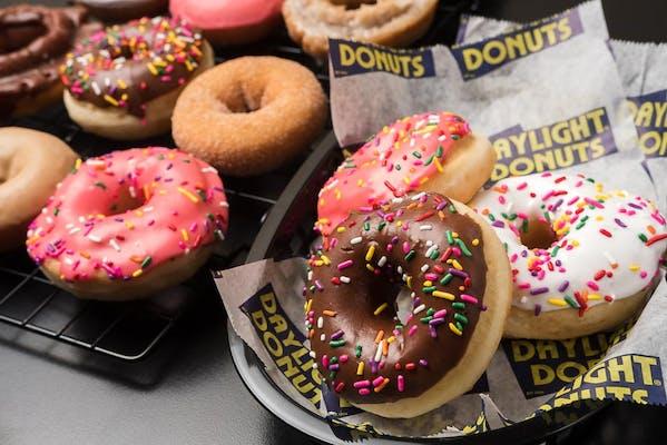 Frosted Sprinkled Donut