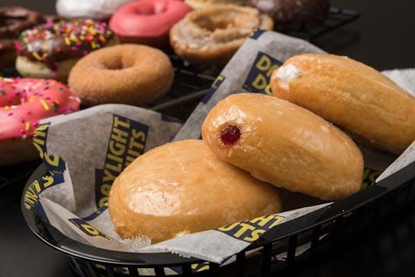 Bavarian Cream Filled Donut