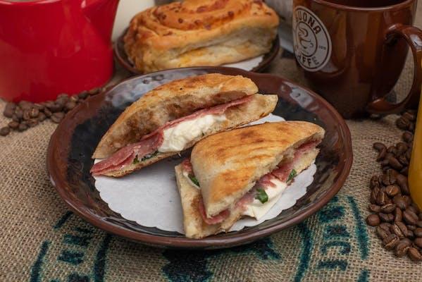 Mozzarella & Italian Salami Panini