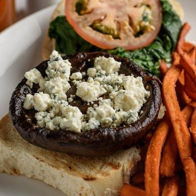 Portobello Spinach Burger