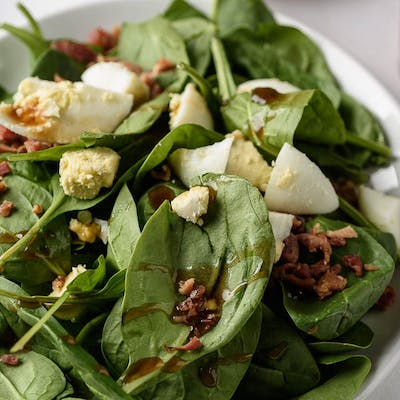 Spinach Side Salad