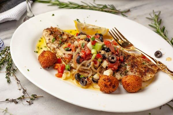 Athenian-Style Fish