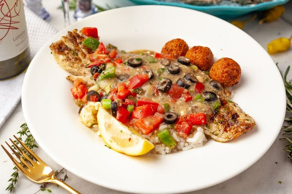 Greek Island Snapper, Grouper, Tilapia, or Shrimp