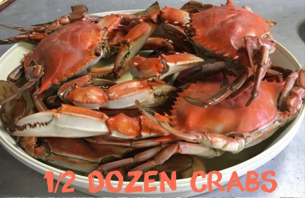 1/2 Dozen Blue Crabs