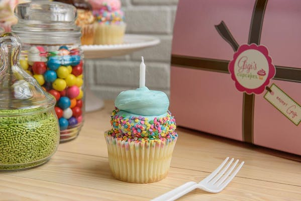 Birthday Surprise Cupcake