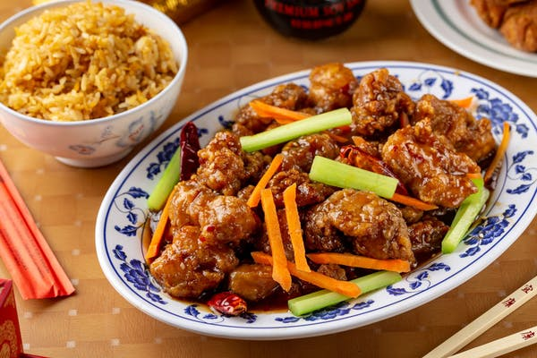 F8. Orange Chicken