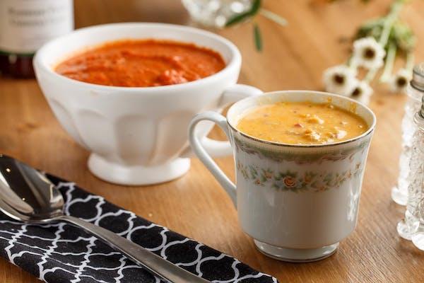 Cheesy Boudin Soup
