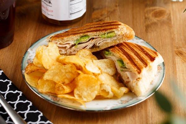 Tex-Mex Turkey Sandwich