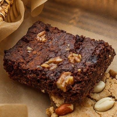 Chocolate Pecan Fudge Brownie