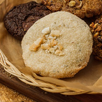 Coconut Rosemary Cookie