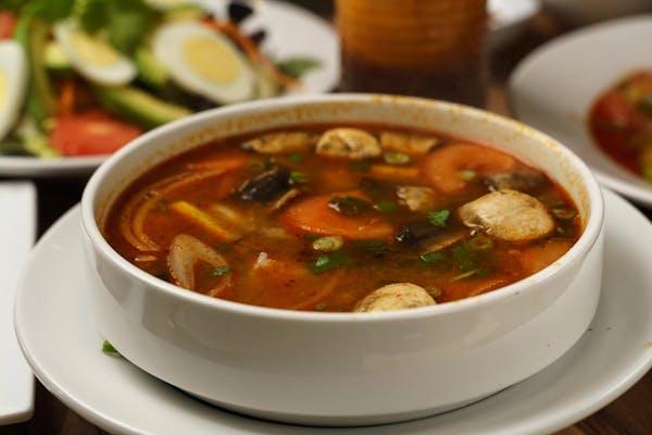 Tom Yum (Chicken Soup)