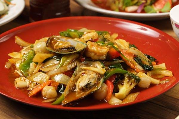 Basil Mixed Seafood