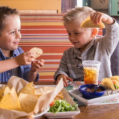 Kid's Build Your Own Mini Tacos