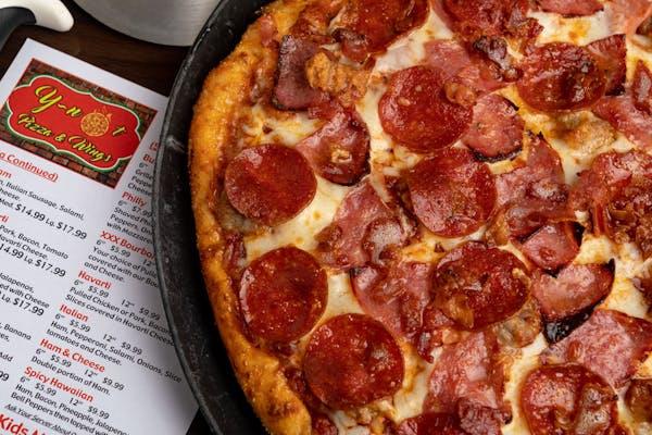 Mega Meats Pizza