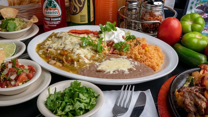 Enchiladas de Vegetables