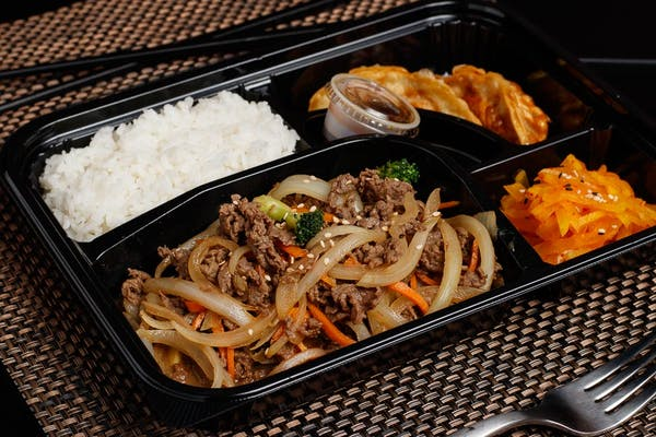 Spicy Bulgogi Lunch Box Special