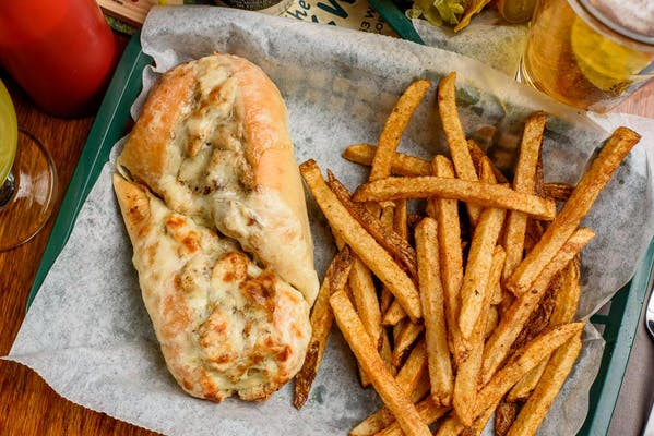 Cajun Chicken Cheesesteak