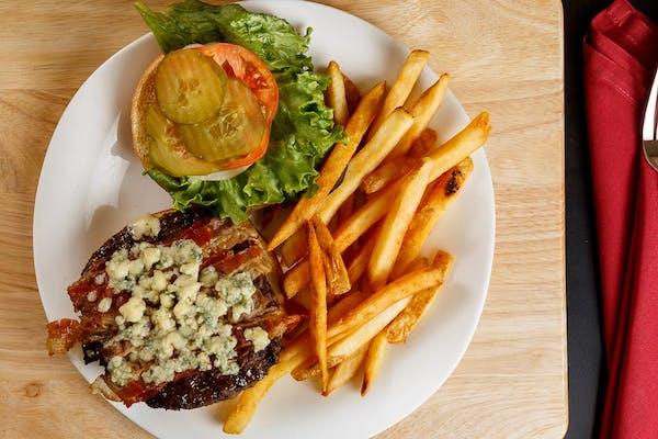 Blues Bacon Burger
