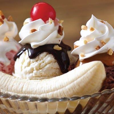 Banana Split Sundae