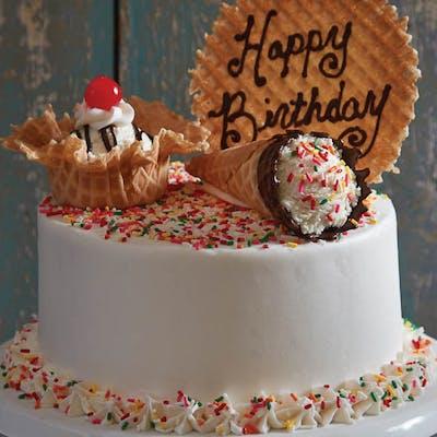 Raving Craving Sprinkle Cake