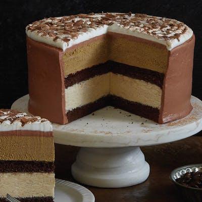 Mocha Cappuccino Fudge Cake