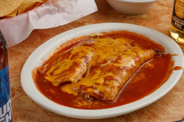 Two Enchiladas