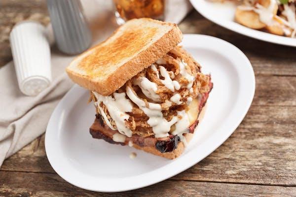 Redneck Reuben Sandwich