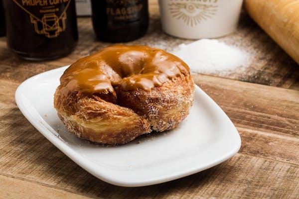 Bourbon Caramel Croissant Donut