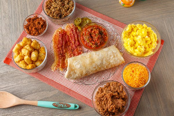 Mary's Special Burrito