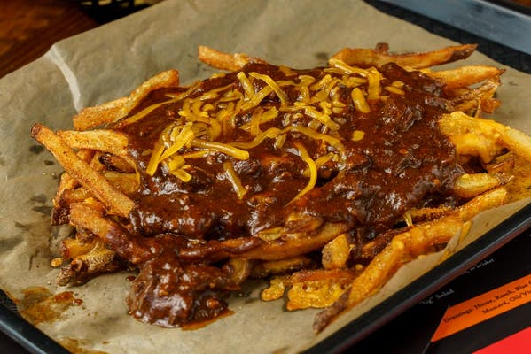Brisket Chili Cheese Fries
