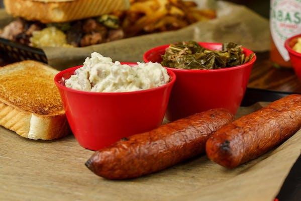 Smoked Sausage Plate