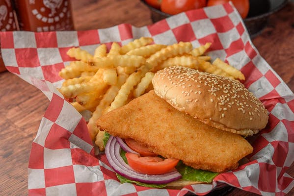 12. Fried Fish Sandwich