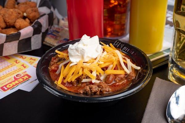 Homemade Chili Bowl