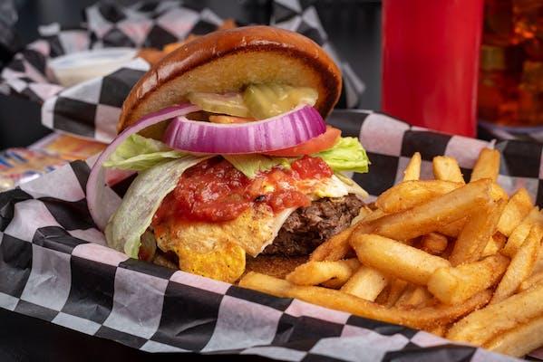 Western Cheeseburger
