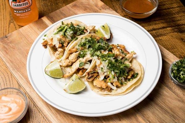 Chicken Tacos Combo