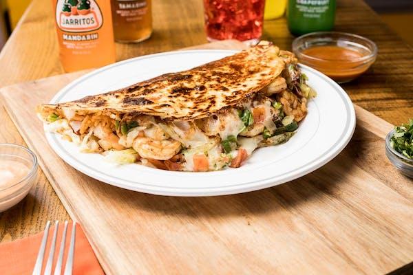 Shrimp Quesadilla Combo