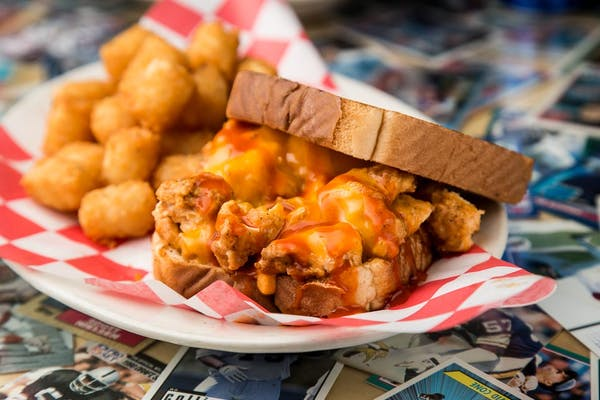 Kickin' Chicken Sandwich