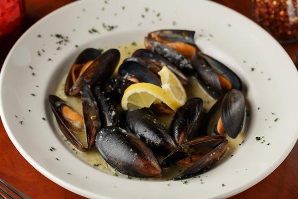 Mussels Marinara or Scampi