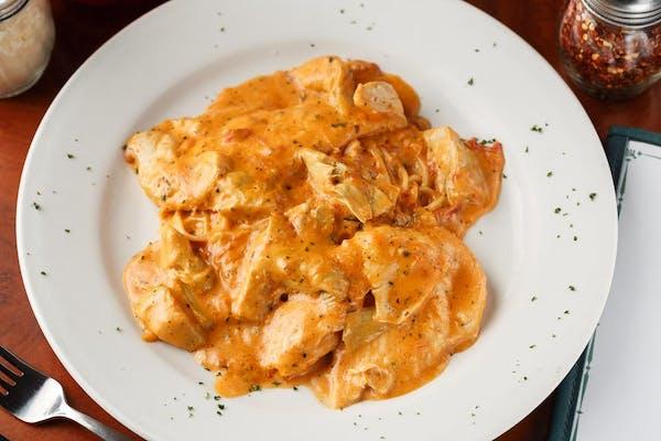 Chicken or Eggplant Cacciatore