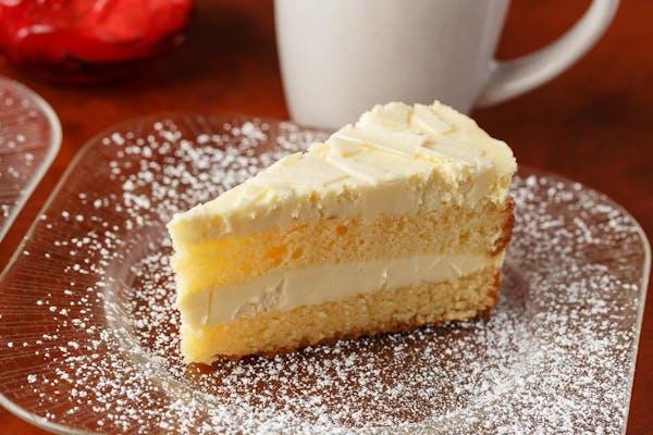 Lemon Mascarpone Cake
