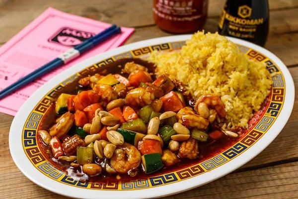 A16. Kung Pao Shrimp
