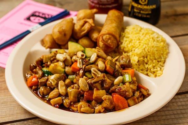 C14. Kung Pao Chicken & Sweet & Sour Pork