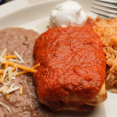 5. Chimichangas
