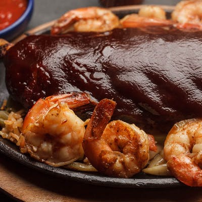 Ribs & Shrimp